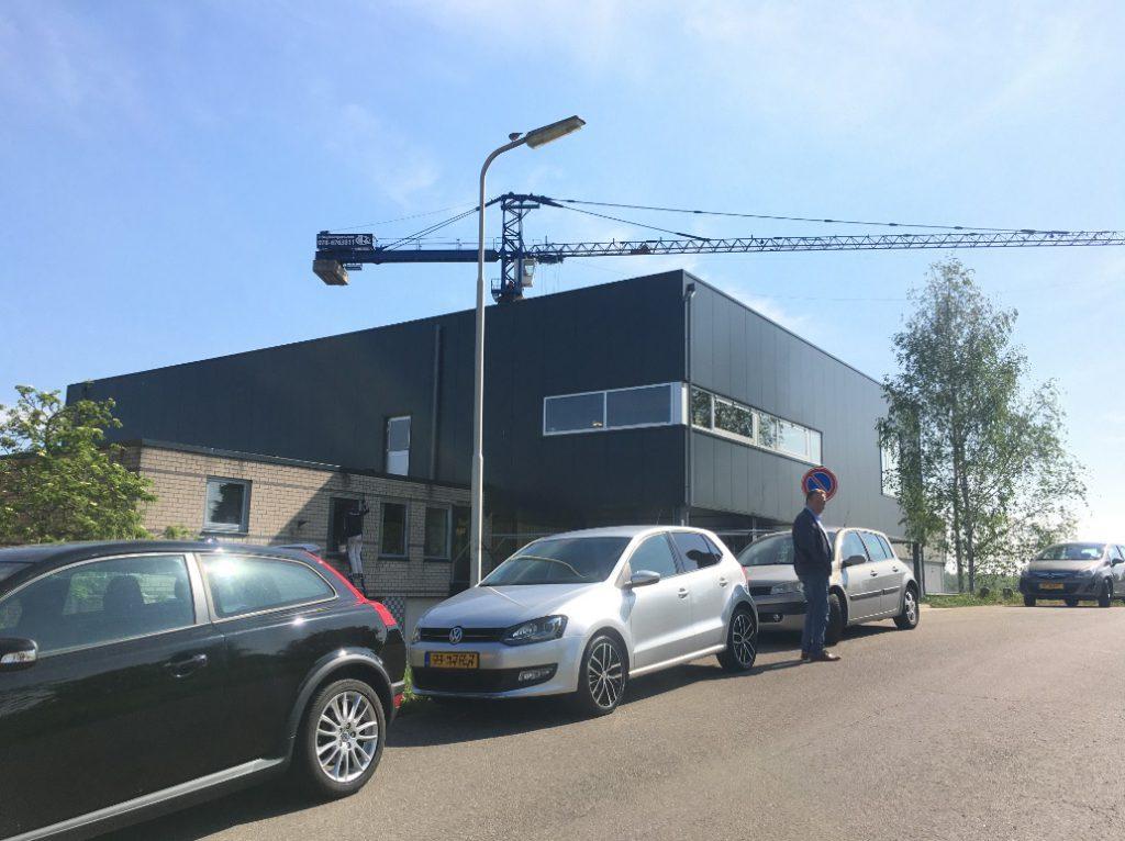 Uitbreiding bedrijfshal Puttershoek