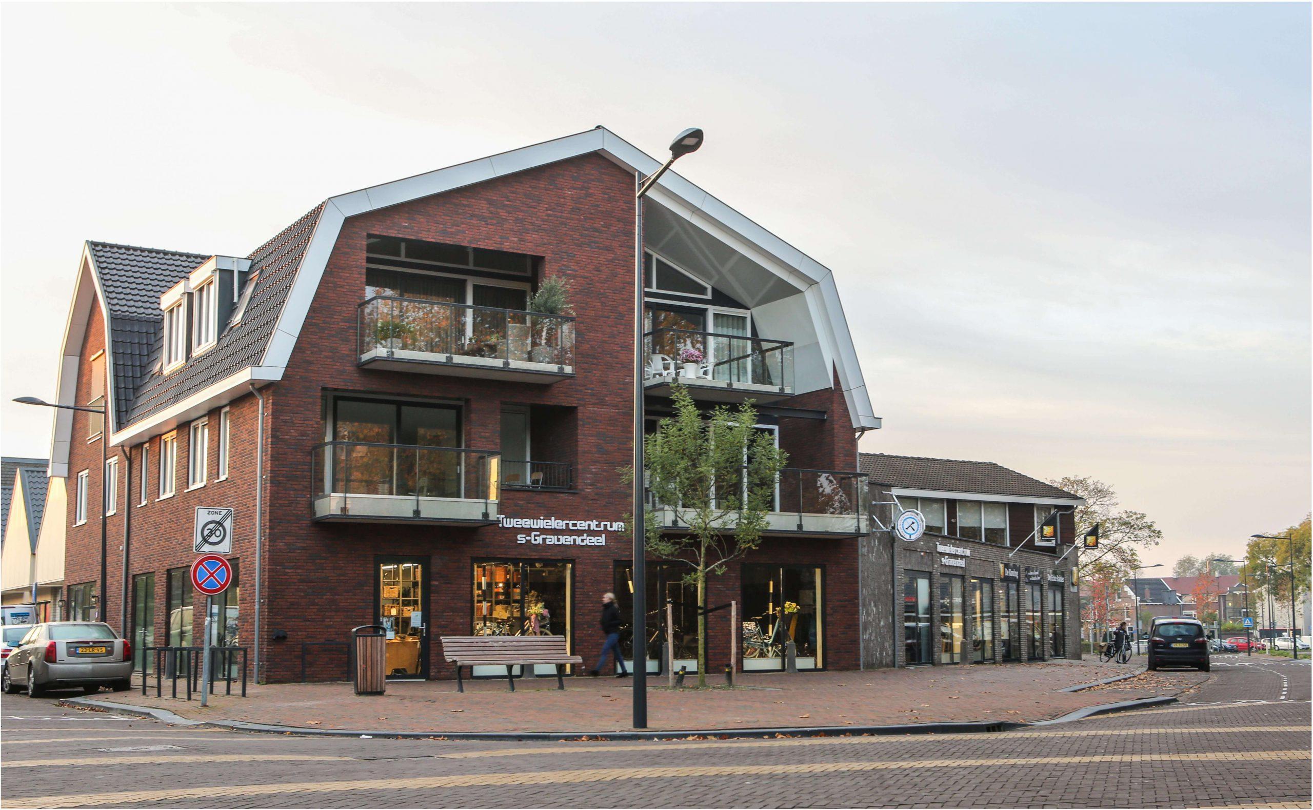 appartementen/winkels 's-Gravendeel